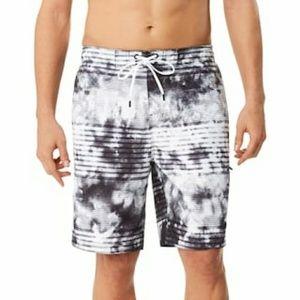 Speedo Mistyblur Striped Board Shorts L